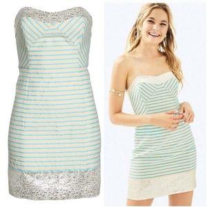 Lilly Pulitzer Remi Mini Dress Bayview Stripe NWT